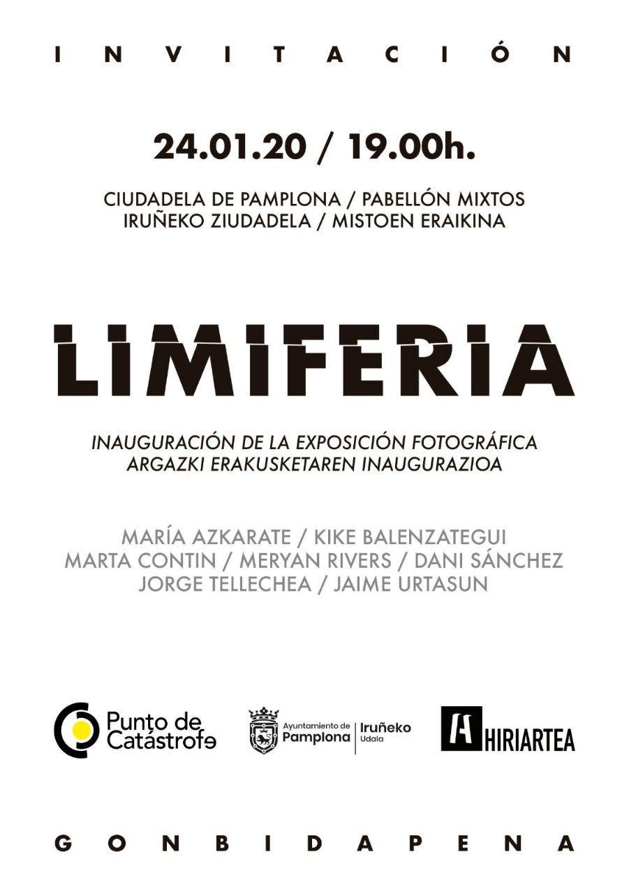 Invitación exposición Limiferia