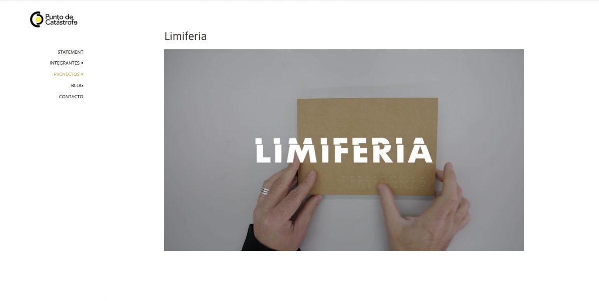 Catálogo de la exposición Limiferia
